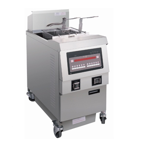 OFG-321 Comptuer Panel Gas Open Fryer (One Tank Two Baskets)