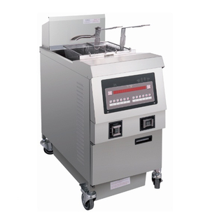 OFE-321 Comptuer Panel Electric Open Fryer (One Tank Two Basket)