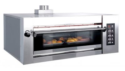 Luxury Type 1 Deck 2 Trays Electric Deck Oven
