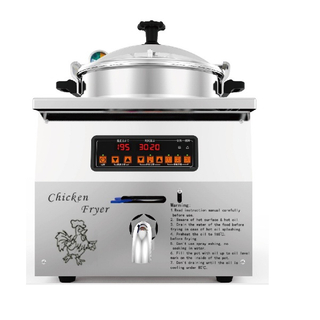 MDXZ-16B Electric Table Top Pressure Fryer Small Chicken Fryer