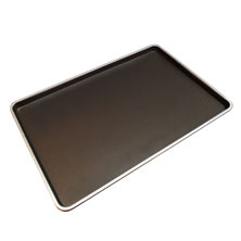 Commercial Non Stick Baking Tray Wide Flat Bakery Pan Aluminum Alloy Biscuit Snack Bread Baking Bakeware