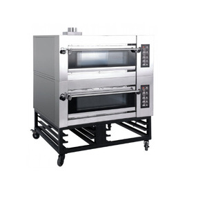 Luxury Type 2 Decks 4 Trays Electric Deck Oven