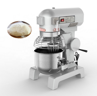 Commercial 20 Liters Planetary Mixer Cake Biscuits Cookies Cream Egg Butter Mixing Bakery Machine