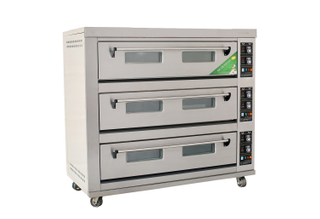 Economic Type 3 Decks 9 Trays Electric Deck Oven