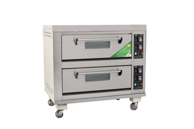 Economic Type 2 Deck 4 Trays Electric Deck Oven