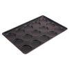 Commerecial 4 Inch Non Stick Hamburger Roll Tray Biscuit Bakery Bun Accessories Baking Pan Bakery Tools Non Stick Hamburger Baking Tray Aluminum Burger Bakeware