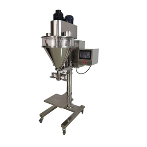 Hang Bag Type Semi Automatic Weighing Powder Packing Machine Auger Filler with Load Cell Powder Filling Machine