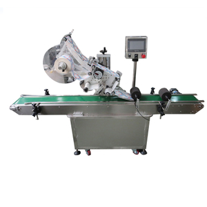 Automatic Self Sticker Flat Labeling Machine Top Flat Plane Labeling Machine Labeler